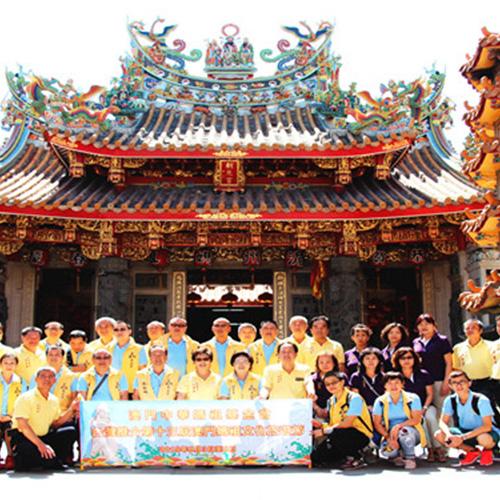 赴台灣推介第十三屆澳門媽祖文化旅遊節